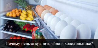 Почему нельзя хранить яйца в холодильнике