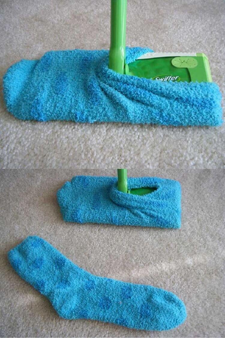 9 хитростей для молниеносной уборки дома