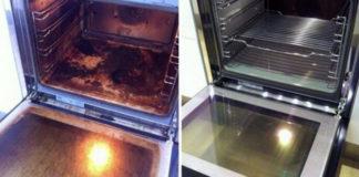 идеально чистая духовка