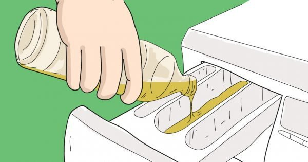 как добавлять уксус при стирке