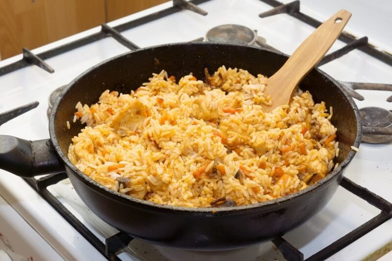 Плов в сковороде рецепт пошагово