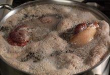 Будьте бдительны при варке супа