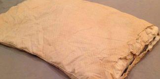 что делать со старыми подушками
