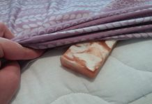 мыло под одеялом