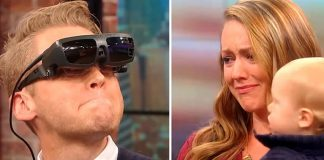 слепой увидел первый раз свою жену