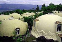 Японский дом из пенопласта