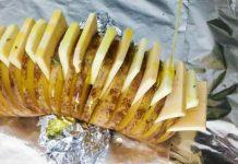 Картофельно-сырный Хасселбек!