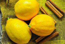 лимон и корица