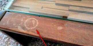 Убрать пятна с деревянной мебели