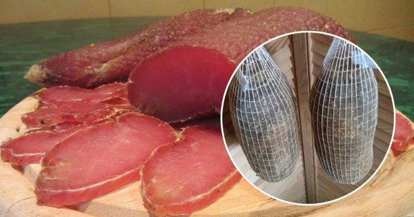 Вяленое свиное мясо в домашних условиях рецепт