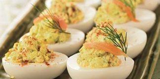 Начинки для фаршированных яиц