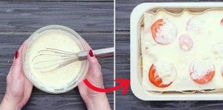 Пирог из лаваша в духовке