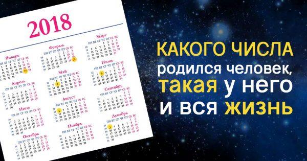 Значение даты рождения