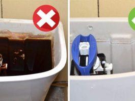 Как очистить унитаз