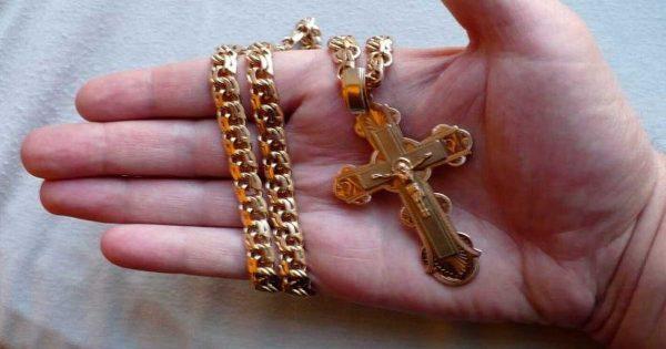 Крест нательный православный.