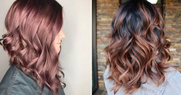 Модный цвет волос 2018 года